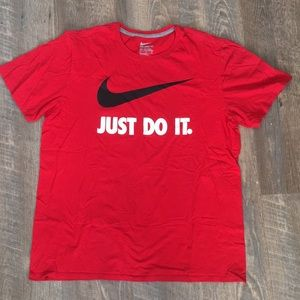 Nike Just Do It Check T-shirt